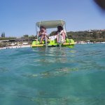 You can hire catamaran different sizes, even limo:)