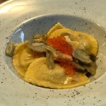Ravioli with Trout Eggs - Caviar Style