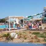 Palmy area water slides and pool