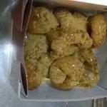 Loukoumades with honey & cinamon