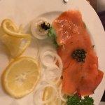 Delicious smoked salmon...from MACRO
