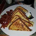 Most expensive French toast n bacon in NYC.