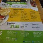 menu meal deal