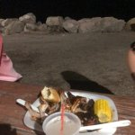 Awesome BBQ for the non seafood eater on the ocean