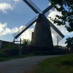 The windmill at the end of the day