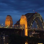 View from the roof - Sydney Harbour bridge
