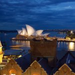View from the roof - Sydney Opera House