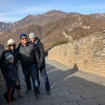 Family at Great Wall