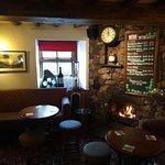 The Royal Oak Braithwaite bar area