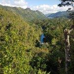 El Nicho Waterfalls
