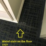 Weird stain