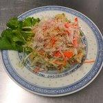 Salade vietnamienne au crabe
