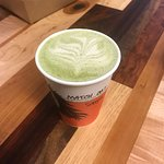 Matcha tea with Oat milk