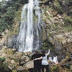 Took a 10 min break from ATVing to walk up to this waterfall and then came back to pineapple & w