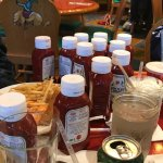 Lots of Ketchup for all to enjoy