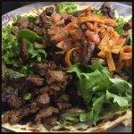 Steak salad