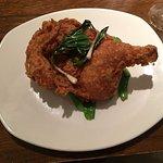 Fried chicken at La Balena