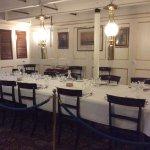 Captains dining area HMS Warrior