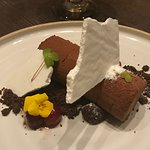 Peppermint and Mousse Seasonal Dessert
