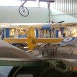 Aircrat in the main hanger.
