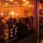 Hyggestemning på Café Sef