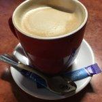 Really good coffee too!