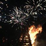 Bonfires and fireworks