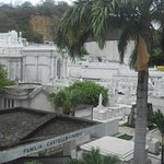 And even a small city has a spectacular cemetery