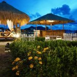 Cabanas for guests dining/drinking