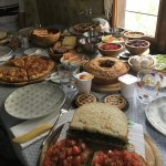 The breakfast spread - Venice-BB-Venezia