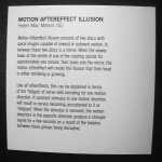 Motion Aftereffect Illusion