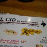 Photo de El Cid Mexican Cuisine