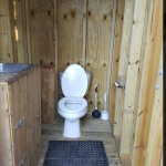 All outhouses should be this nice!