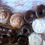 donuts and sweet rolls
