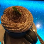 Delicious and big Montana style tiramasu