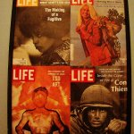 If you look for them, you can find these classic LIFE magazines framed on a wall
