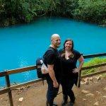 Celestial waterfall rivera and tenorio national park