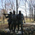 The Three Servicemen, near Vietnam Veterans Memorial