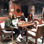 Enjoying the best hotel in Kathmandu, Nepal. Best architecture and kindness of their staffs.