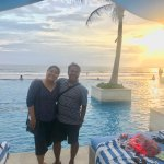 Nyunset with best frend