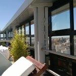 Vista desde la pileta del Hotel