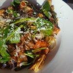 Spice scallop marinara
