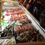 Fish and seafood to choose from