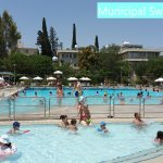 The Nicosia Municipal Swimming Pool (Fee entry, 10 minutes walk from the hotel)