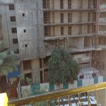 View from balcony for rooms situated behind