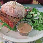 """Meatloaf """"sandwich"""""""