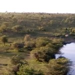 A man-made river by the Amani Mara owners.