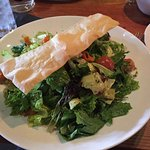 Tasty, locally sourced salad was Pitch perfect but too big to finish.