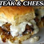 steak & cheese sliders