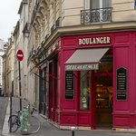half a block away from hotel - lovely Boulanger
